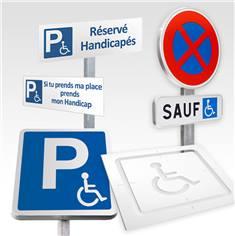 signalétique extérieure loi handicap