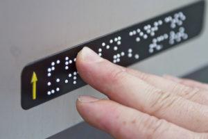 signalétique braille