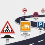 Les panneaux routiers et panonceaux