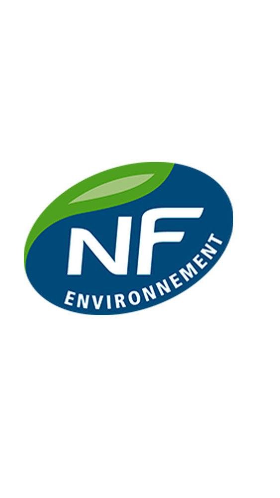 Certification NF Environnement pour un marquage de qualité.